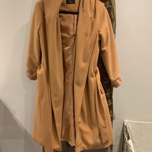 long soft trench coat